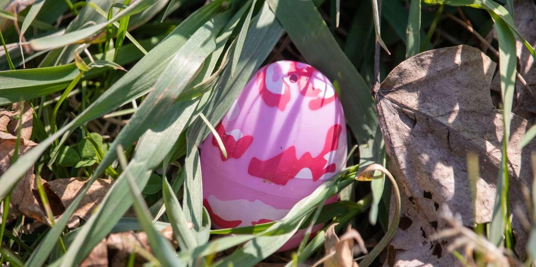 Paskalya için yumurtaları saklayın.