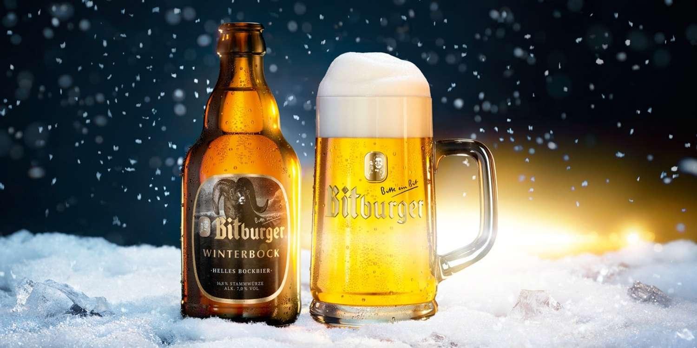 Alman bira markası Bitburger resmi