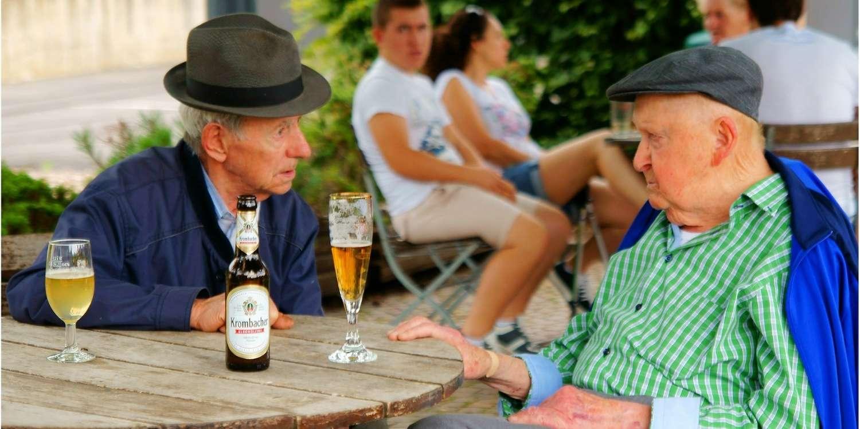 Alman bira markası Krombacher