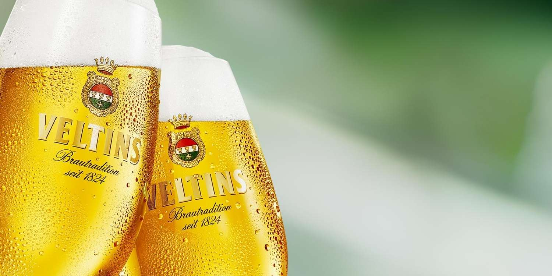 Alman birası Veltins resmi