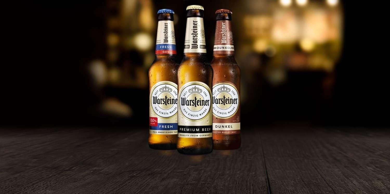 Alman birası Warsteiner